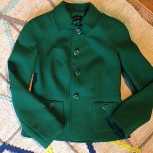 Talbots Emerald Green Blazer